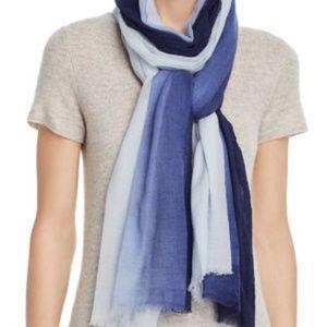 Echo Ombre Dip Dye Lightweight Wool Scarf Wrap